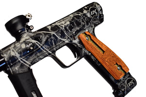 Dripping Skulls Paintball Marker Design