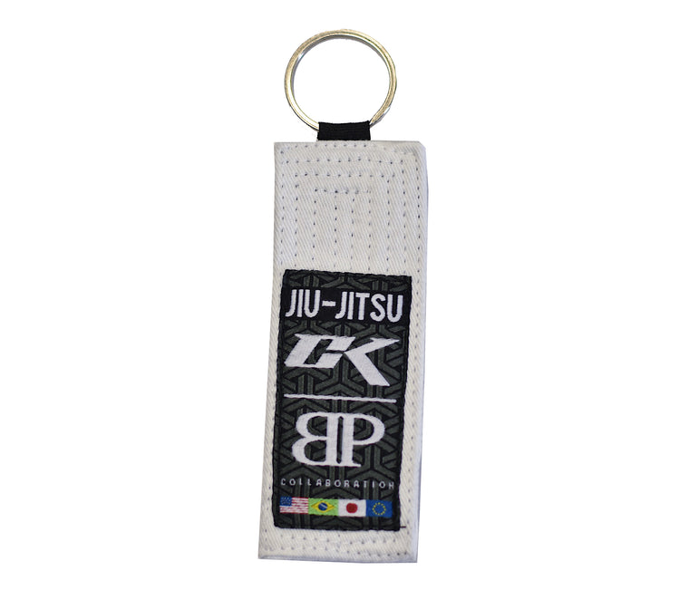 CK BJJ Belt Keychain COLLAB