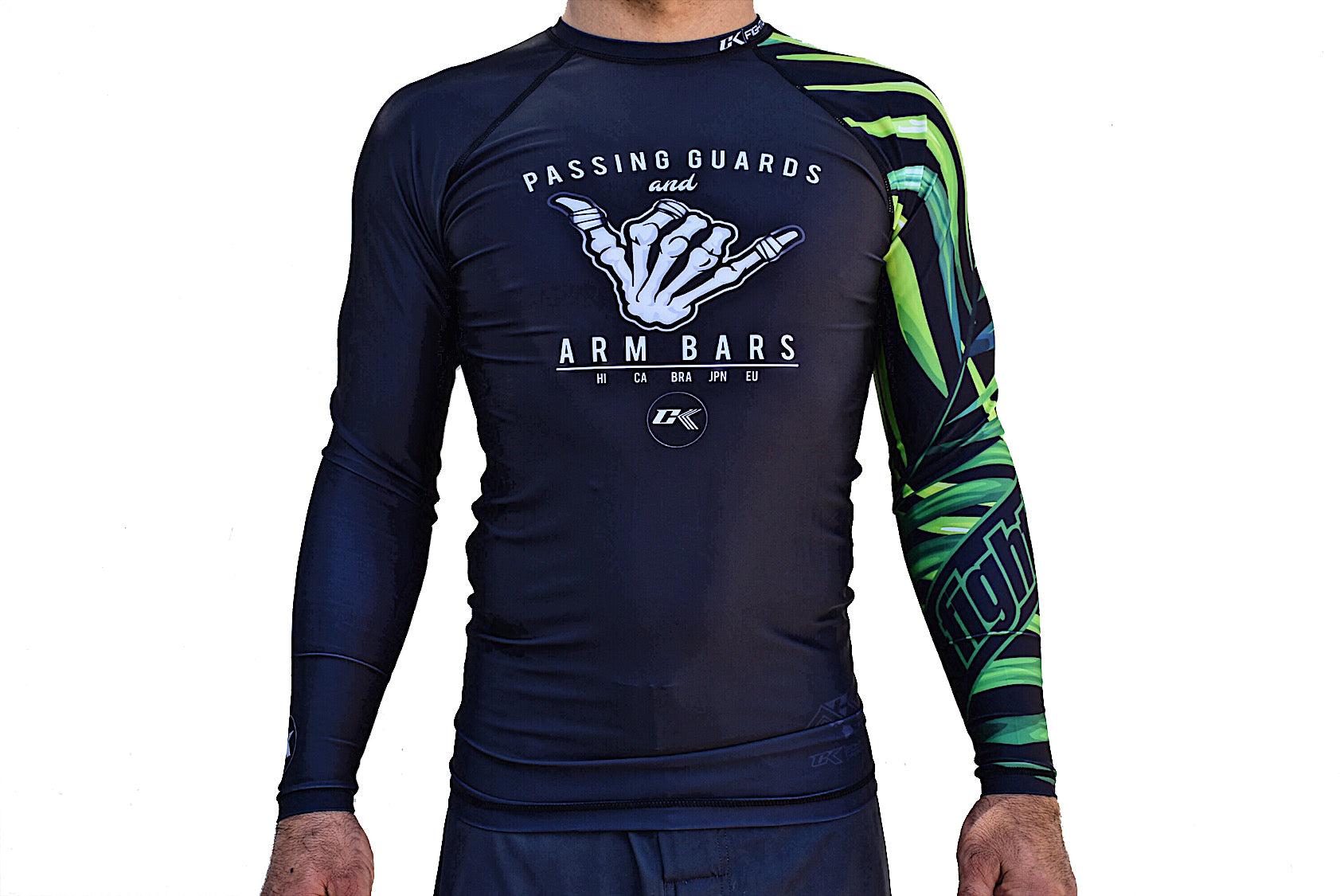 CK Dem Bones Rash Guard