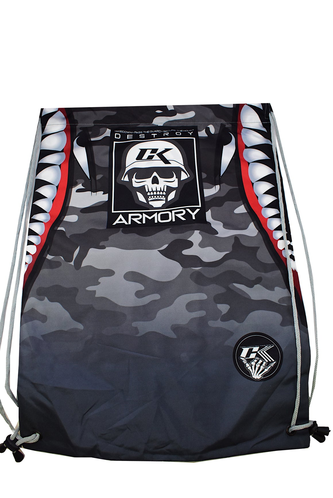 CK Armory Drawstring Bag - Gray