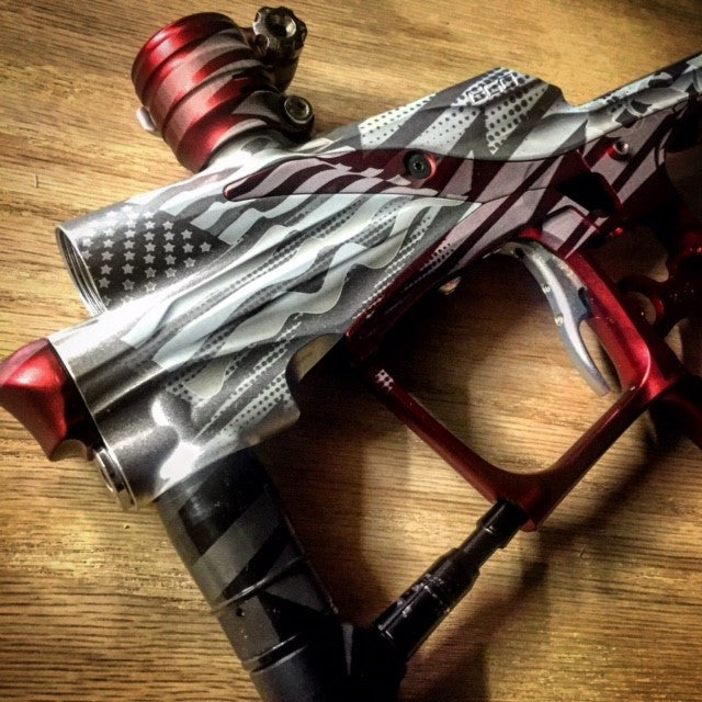 Americka Paintball Marker Design