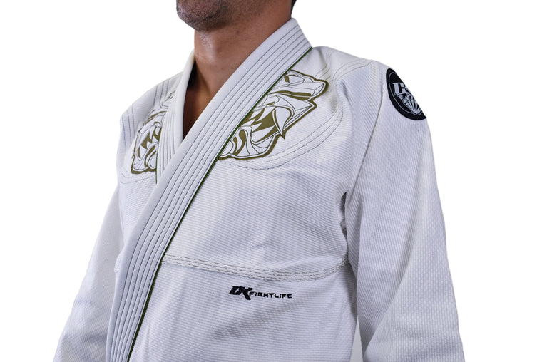CK Limited Edition IMUA Jiu Jitsu Kids Gi - White