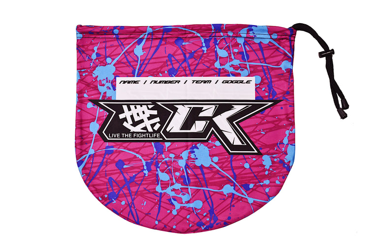 CK Paintball Goggle Bag - Bubblegum Splash Design