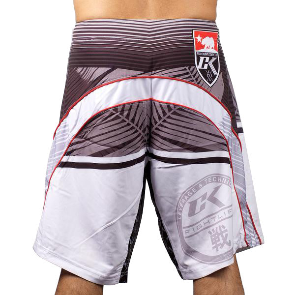 CK Palms Shorts Red