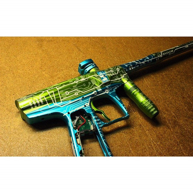 Circuit Paintball Marker Design