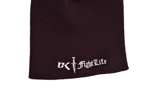 CK Fight Life Beanie - Brown