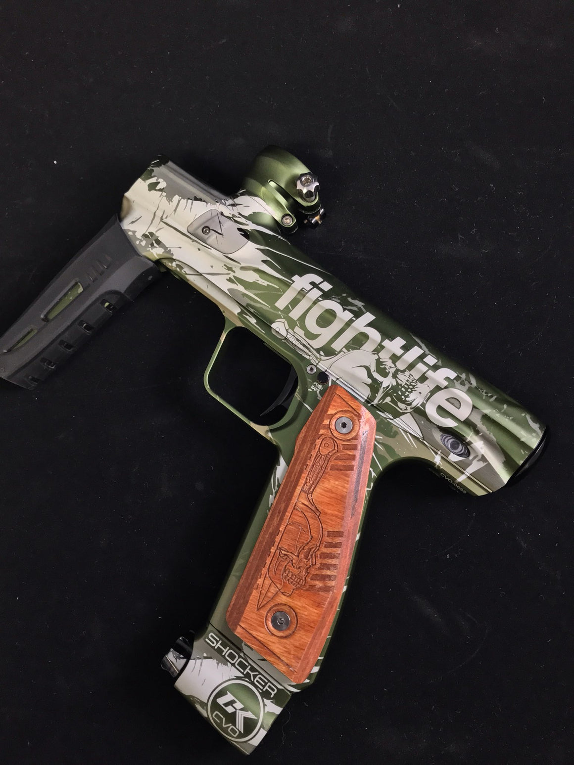 DAGGER Paintball Marker Design