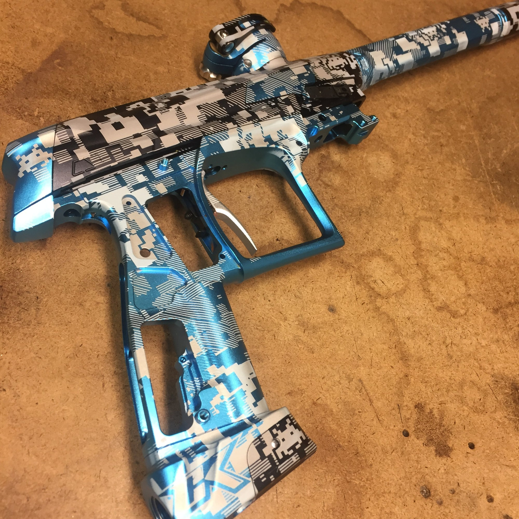 Digi Paintball Marker Design