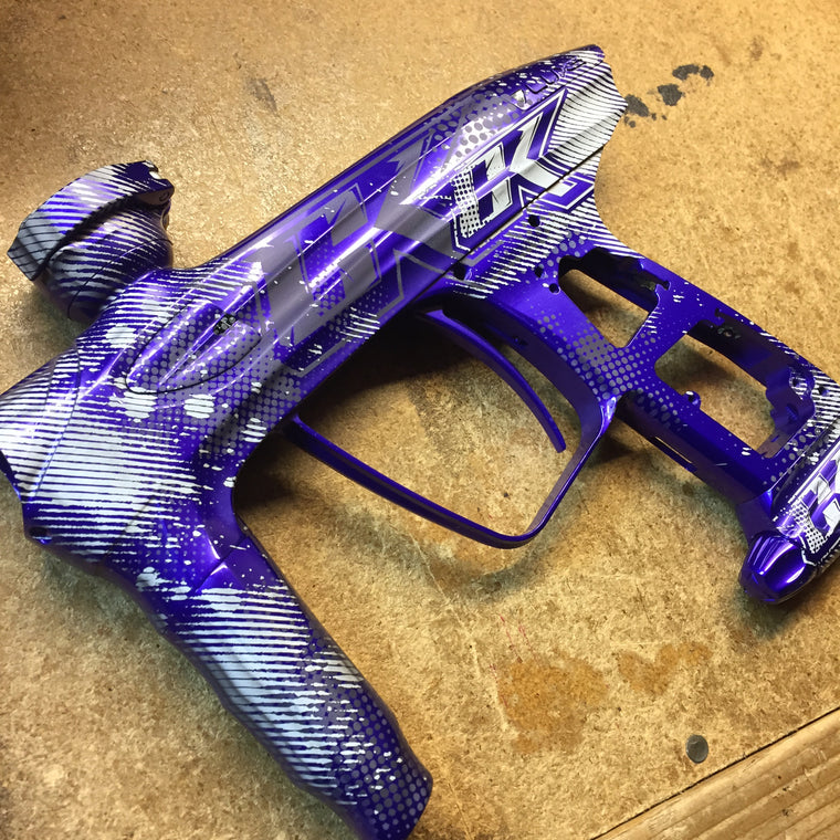 Hot Mess Paintball Marker Design