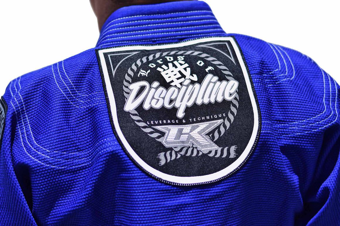 Contract Killer Discipline Jiu Jitsu Gi Blue