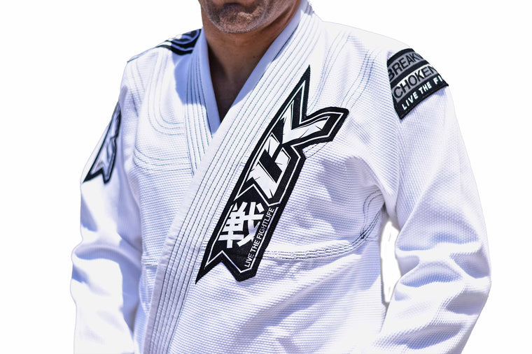 Contract Killer Discipline Jiu Jitsu Gi White