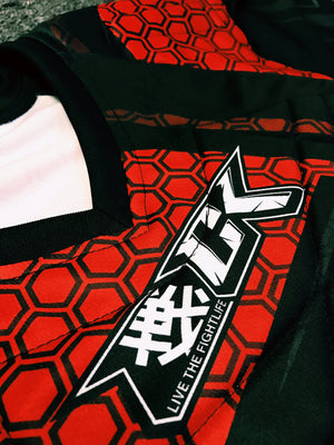 CK Hex Paintball Jersey Red