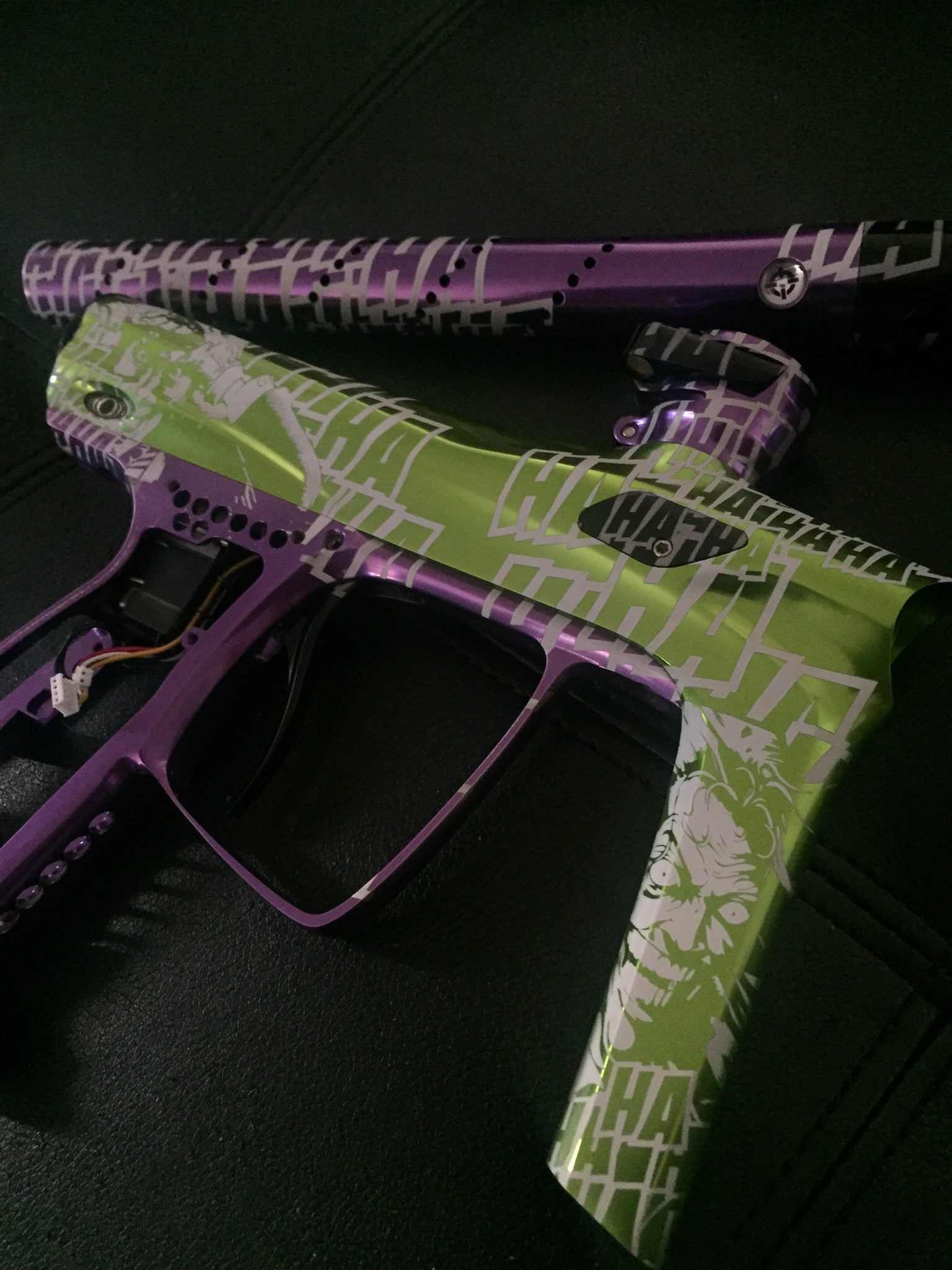 Joker Paintball Marker Design