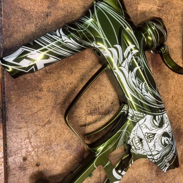 Muerte Paintball Marker Design