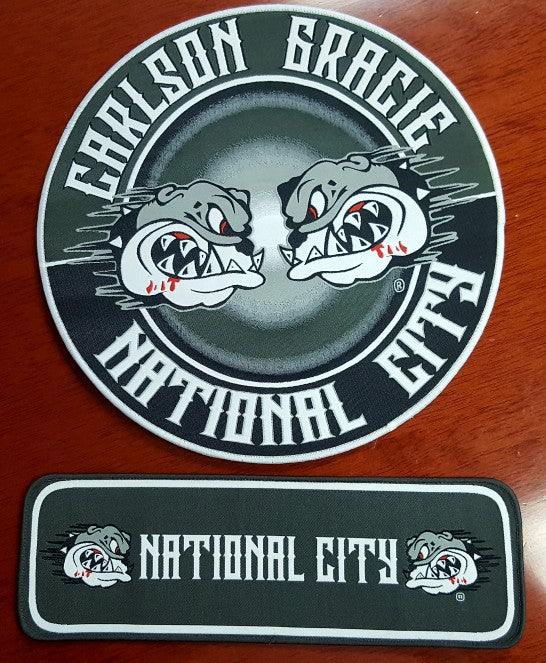 National City BJJ Sewing Set - 2