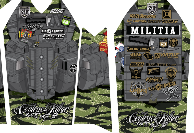 Super Game 52 Paintball Jersey - Oregon Edition by CK FIGHTLIFE