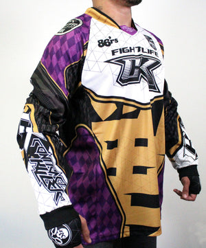 Contract Killer Paintball 2020 Athlete Jersey - Purple / Gold PREORDER