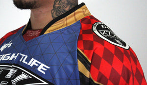 Contract Killer Paintball 2020 Athlete Jersey - Blue / Red PREORDER