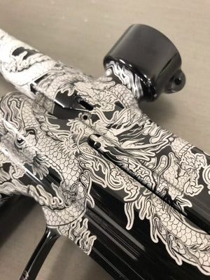 Dragon Paintball Marker Design
