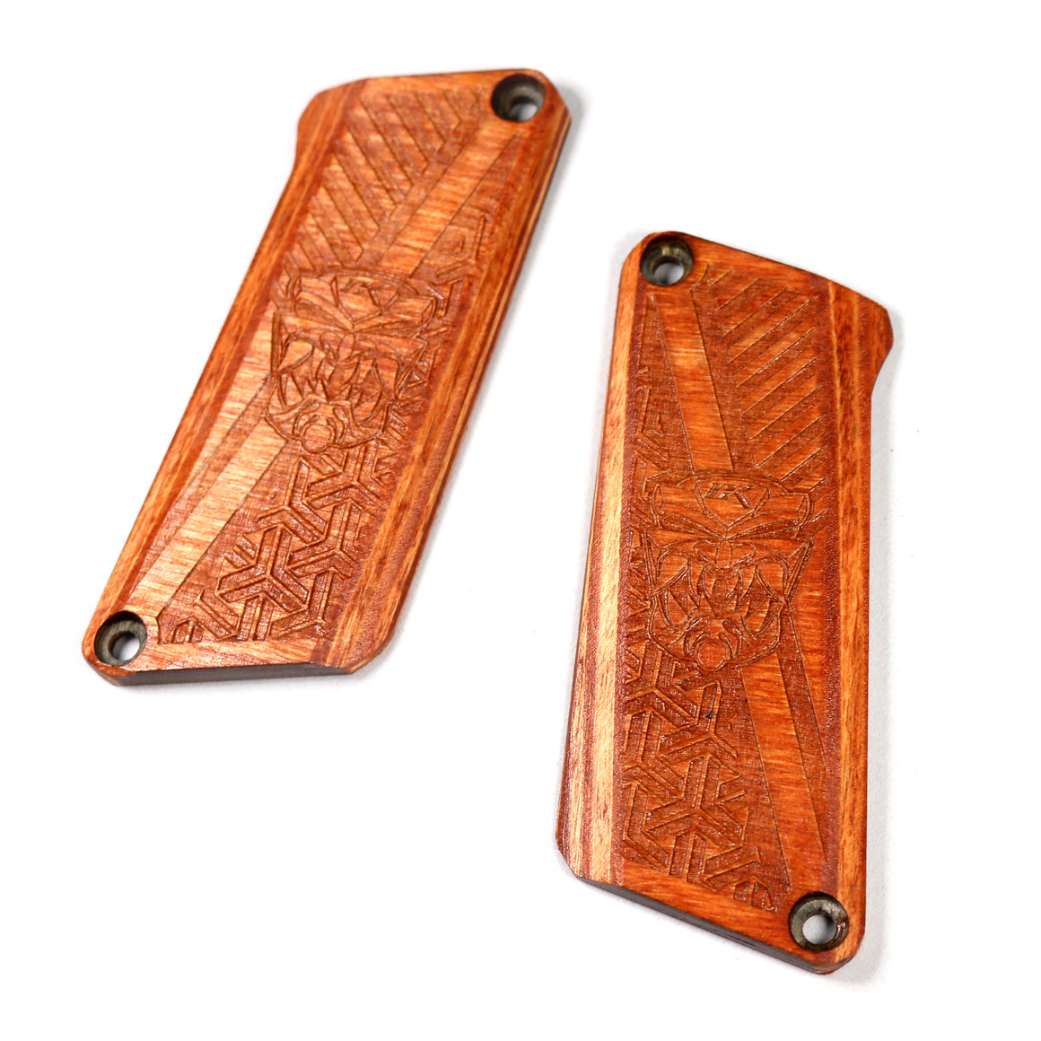 Contract Killer Tiki Paintball Grips - Field 1 G6R - TWO PIECE BUILD