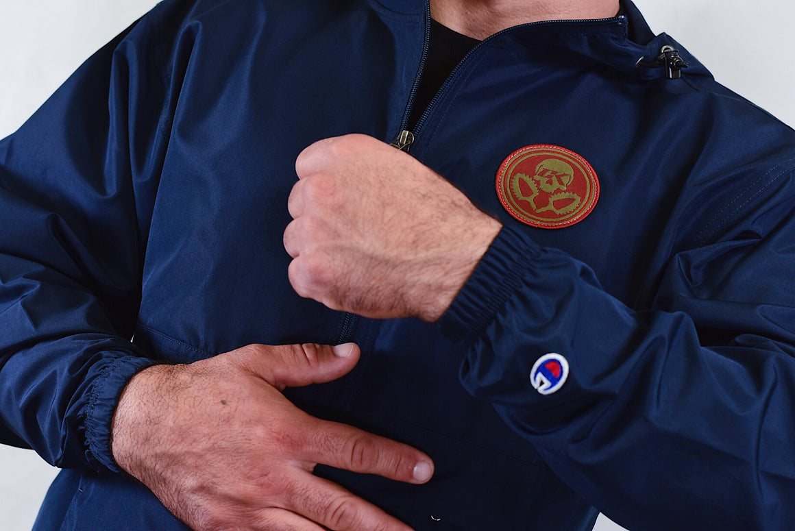 CK RFW Champion 1/4 Zip Jacket - Navy Blue