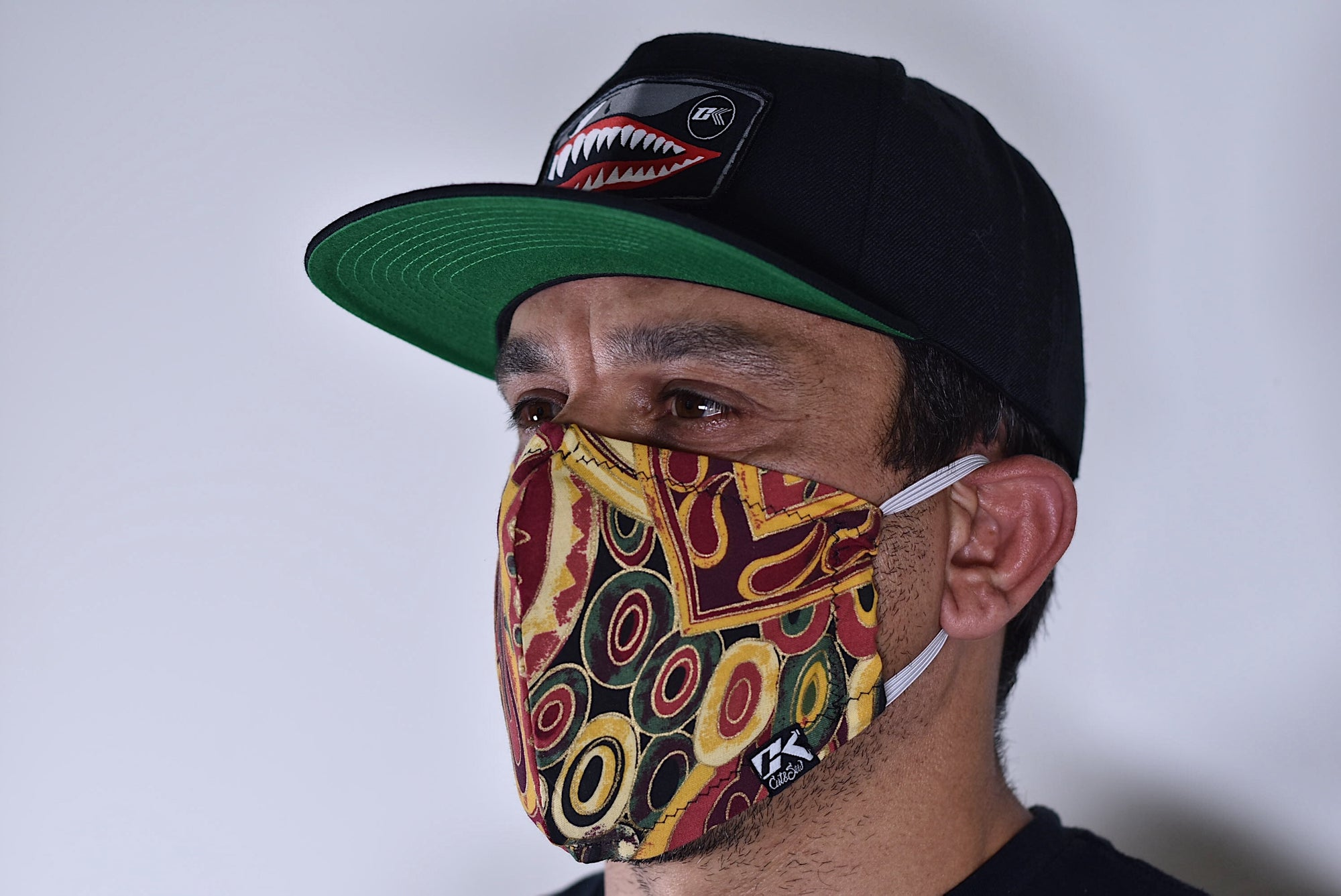 CK Cotton Face Mask -  Funky Print