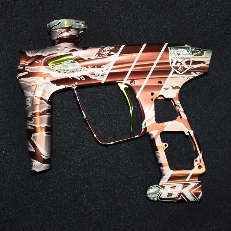 Tigerstripe Paintball Marker Design