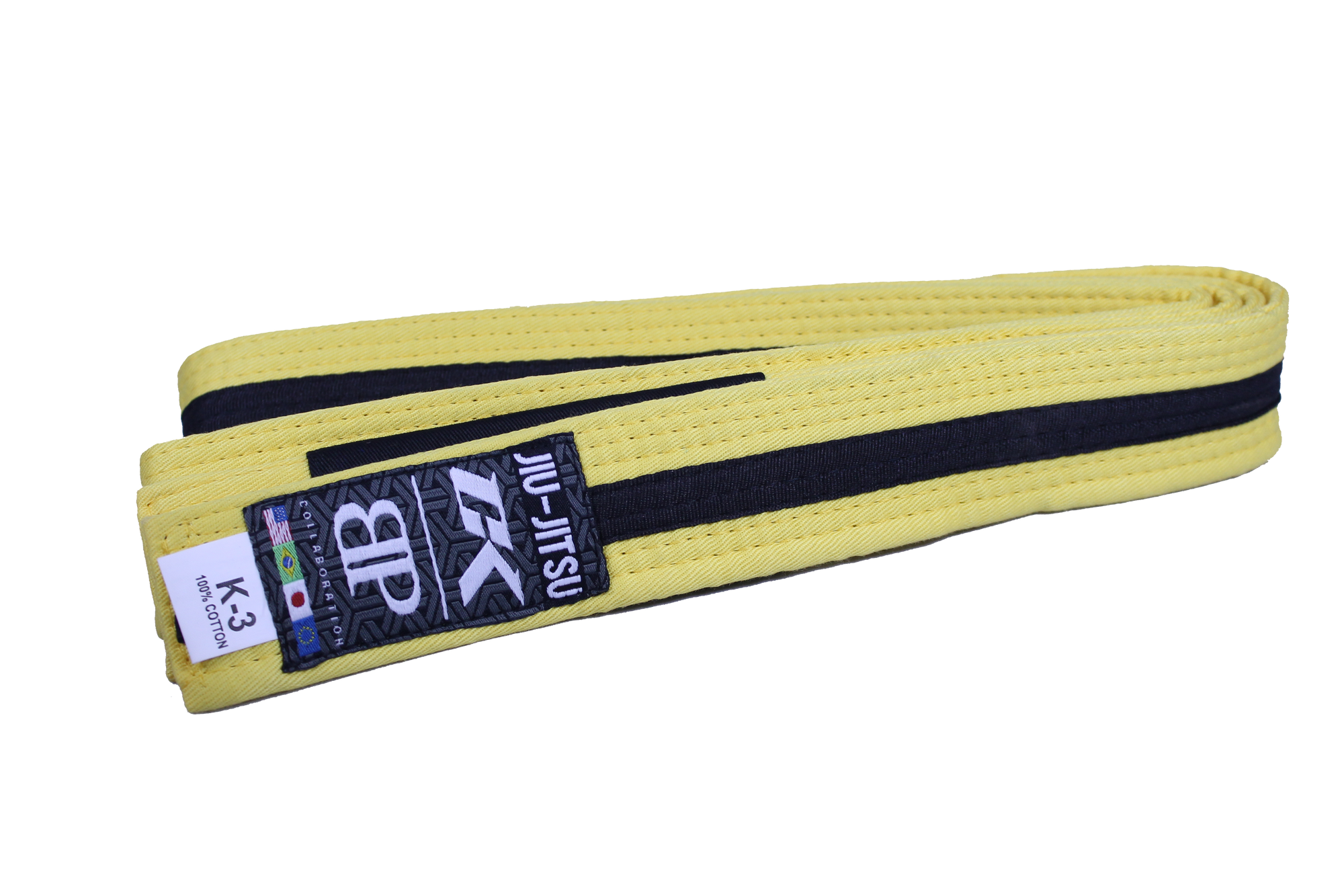 Contract Killer Jiu-Jitsu Yellow/Black Kids Belt