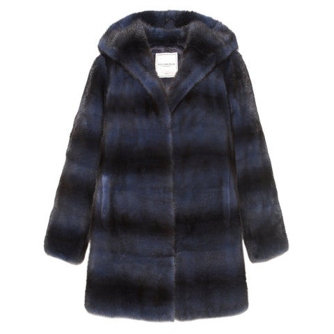 Mink Hooded Coat