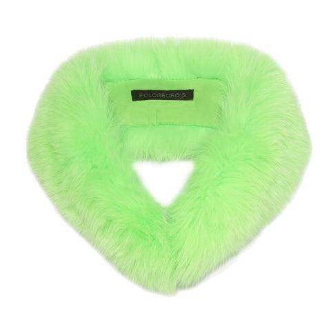 Neon Fox Fur Headband