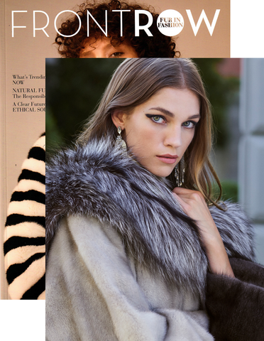 POLOGEORGIS FUR FRONTROW FUR IN FASHION SEPTEMBER 2018