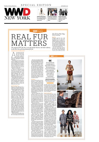 WWD - REAL FUR MATTERS