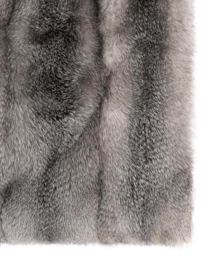 Fox fur throw- pologeorgis