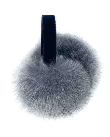 Fox Earmuffs in Grey