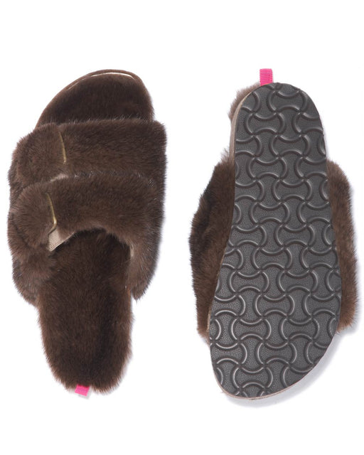 Fur Slippers - Kelly Bensimon