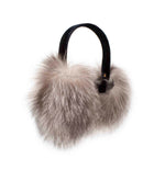 Silver Fox Earmuffs