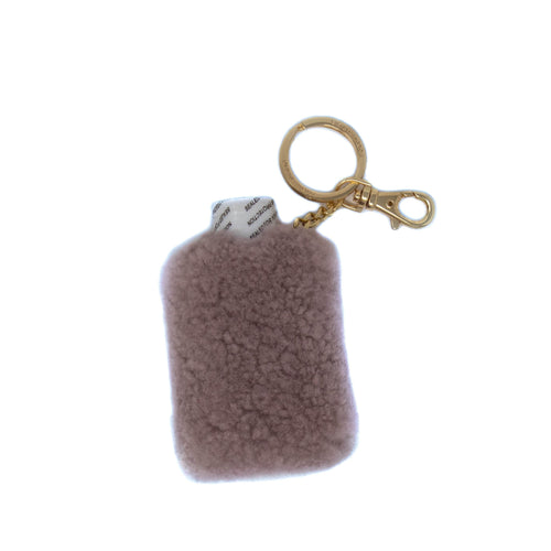 The Ultimate Shearling Hand Sanitizer Keychain