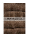 The Briar Long Sable Fur Vest
