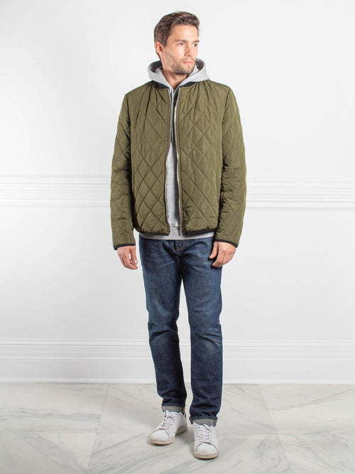 Mens Sheared Rabbit Jacket
