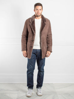 Mens Shearling Lamb Jacket