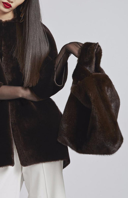 Mink Bag in Brown Color