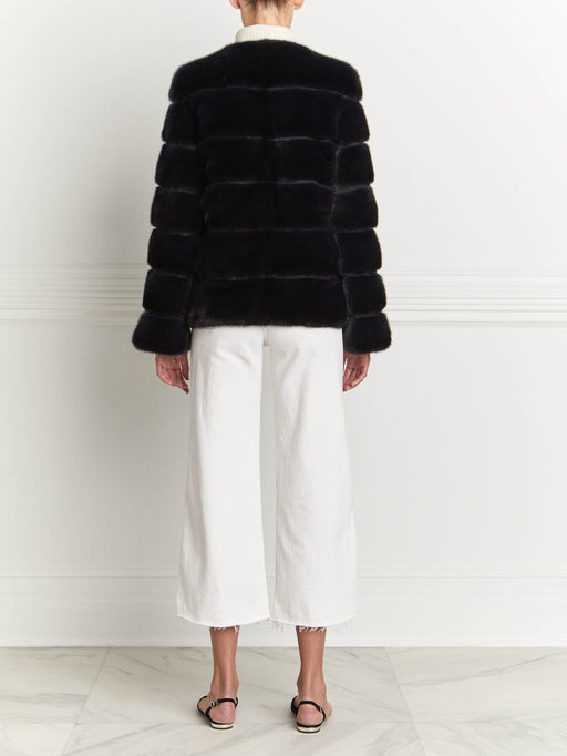Mink Fur Jacket - Pologeorgis