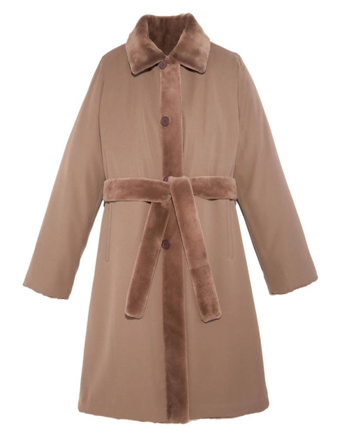 Reversible Mink Raincoat - Pologeorgis