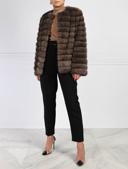 Sable Fur Jacket - Pologeorgis