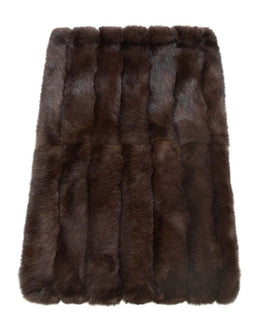 Sable Fur Throw