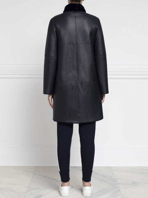 Shearling Coat - Pologeorgis