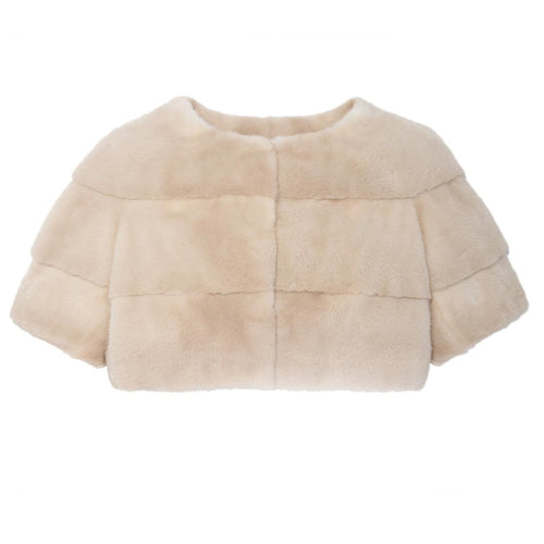 Mink Shrug in Palomino