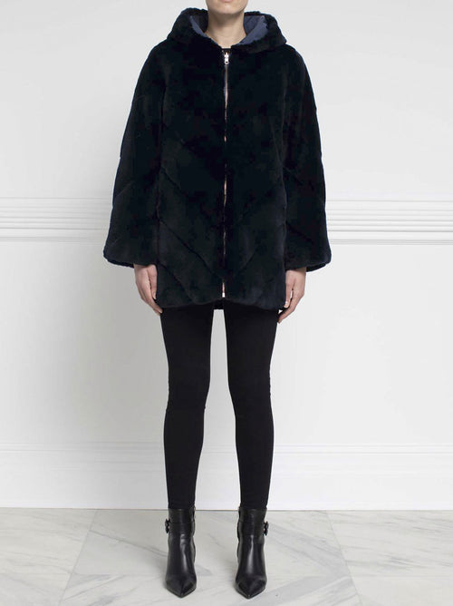 Reversible Mink Fur Coat - Pologeorgis