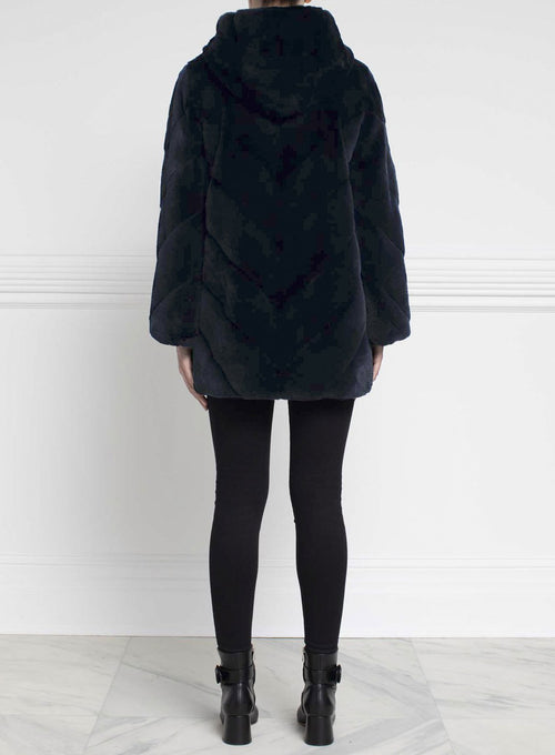 Reversible Mink Fur Coat