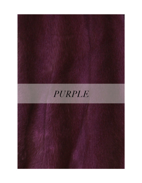 Mink Jacket in purple